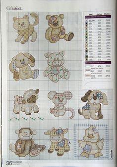 Baby Animals cross stitch