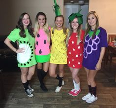 Simple Last Minute Halloween Group Costume