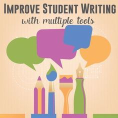Improve Student Writing: Overused Words, Poor Sentence Structure, and More - help secondary students fix their writing with differentiated tools.