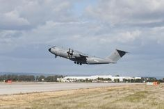 """1st Airbus A400M for German Air Force made maiden flight.MSN18,took off from Seville,Spain today 14:30 local time (GMT+1) & landed back on site 4 hours & 58 minutes later.Experimental Test Pilot Thomas Wilhelm,who captained flight,said:""""It is a great privilege to have conducted the first flight of the German Air Force's first A400M.I am absolutely confident that the combination of strategic range with true tactical capability that it brings will contribute enormously to the service'"""