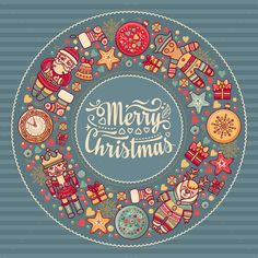 Merry Christmas Wreath With Christmas Toys Spanish Christmas, Merry Christmas, Christmas Toys, Christmas And New Year, Christmas Tree Ornaments, Christmas Holidays, Christmas Decorations, Cute Christmas Backgrounds, Christmas Wallpaper
