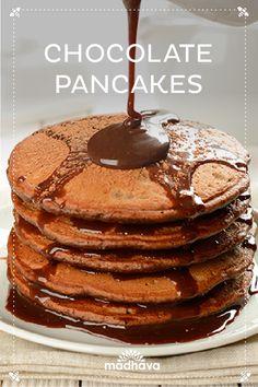 Madhava Chocolate Pancakes | Madhava
