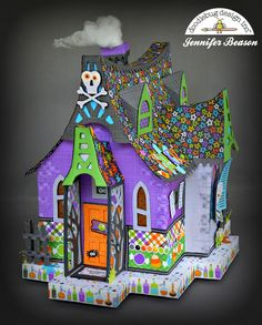 Doodlebug Design Inc Blog: Boos & Brews Collection: Haunted House by…