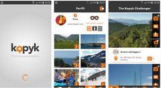 #Fotografía #android #fotos Kopyk, nueva aplicación que mezcla la idea de Panoramio con los concursos de fotografía