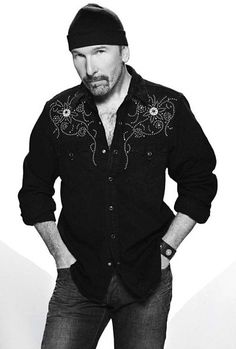 The Edge.  One of life's delights when I met him!