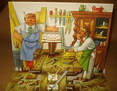 VINTAGE-POP-UP-BOOK-KUBASTA-ARTIA-MAGIC-TABLE-1975