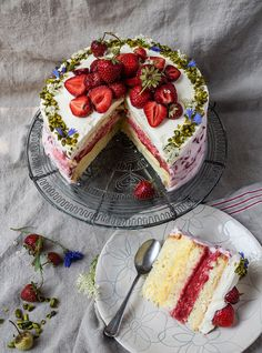 Desserts For A Crowd, Fancy Desserts, Summer Desserts, No Bake Desserts, Delicious Desserts, Yummy Food, Cake Recipes, Dessert Recipes, Party Buffet