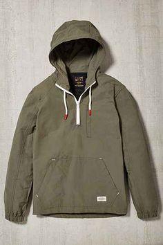 CPO Nylon Side Zip Anorak Jacket