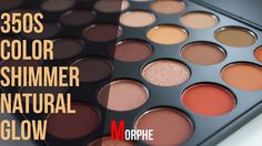 Everyday Copper Golden Glow Morphe 35OS Color Shimmer Natural Glow