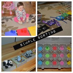 Simple Sorting for Young Toddlers