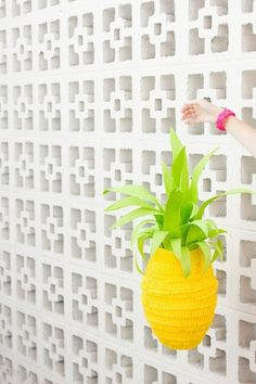 DIY Decor Trend: Pineapple Craft Projects