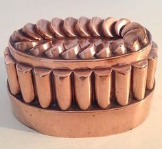 Copper mold ~ seems like a challenge to unmold