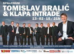 Tomislav Bralić i klapa Intrade - Spaladium Arena!