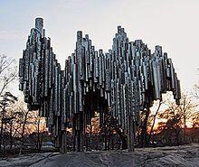 Sibelius Monument in #Helsinki, #Finland