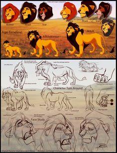 Ahadi Character Design Sheet by ~DJCoulzAnimalsOnly on deviantART