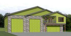 PDF house plans, garage plans, & shed plans. Dog House Plans, Small House Floor Plans, Garage House Plans, Cabin Plans, Rv Garage, Garage Apartment Floor Plans, 2 Bedroom Floor Plans, Garage To Living Space, Garage Guest House