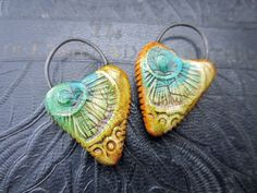 Ancient Eye Charms by S L Artisan Accents- www.slartisanaccents.etsy.com