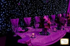 starry night wedding theme - yes purple is still possible with a celestial theme #dawninvitescontest