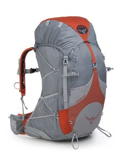 #Osprey Exos 58 Backpack 1 #prolitegear The Exos 58 is the go-to pack for active light-and-fast outdoor pursuits, thanks to its AirSpeedSuspension, which teams a 6061-T6 Aluminum frame with a 3D tensioned mesh backpanel, and side crescent ventilation.