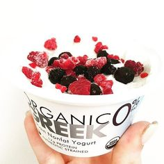 We will take some Wallaby Yogurt with berries on top! Thanks @healthnutmissy for posting this great pic!
