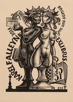Art-exlibris.net - ex libris di Frank-Ivo Van Damme per Karel Falleyn