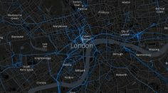 london mozilla location coverage by Mapbox