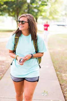 Livin' the comfy life on campus #southernshirt