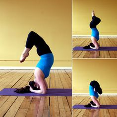 If you're ready to explore a headstand in new ways, here are 8 variations to try the next time you find yourself upside down.