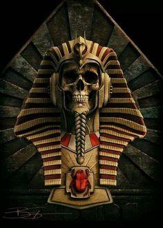 by Bud Sypeck Art & Design Egyptian Mythology, Ancient Egyptian Art, Dark Fantasy Art, Dark Art, Egypt Concept Art, Anubis Tattoo, Egypt Culture, Egypt Art, Gothic Art