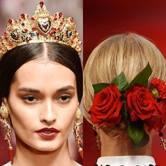 The best beauty look to come out of Milan was inspired by Spain...