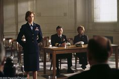 The Core (movie) (Left to right) Hilary Swank as Beck, Bruce Greenwood ...