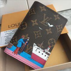 Louis Vuitton lv monogram passport holder Louis Vuitton Passport Cover, Leather Gifts, Leather Bags, Gucci, Louis Vuitton Accessories, Cute Bags, Luxury Bags, Travel Essentials, Louis Vuitton Monogram
