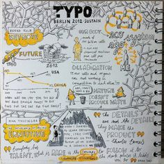 TYPO Berlin Sketchnotes by Eva-Lotta Lamm