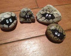 Painted Rocks Hand Painted Turtle Rock by PetRocksbyTheresa