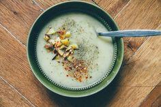Zimná pórovo-zemiaková polievka | JEDZ A MILUJ