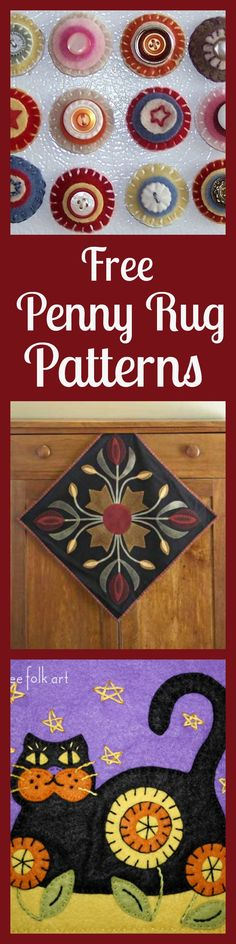 Free Penny Rug Patterns