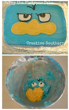 Easy Perry the Platypus Cake | Creative Southern Home