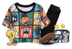 """""""Looney Tunes"""" by christinagleason ❤ liked on Polyvore"""