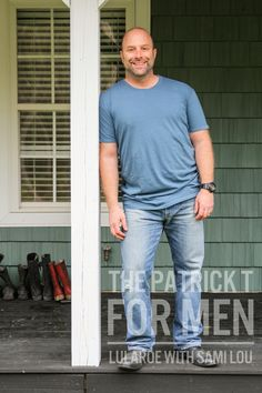 The Patrick T for men. Simply comfortable. It in my inventory now. #lularoe #lularoeconsultant