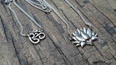 Colar de prata Nirvana www.produtosindianos.com.br