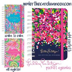 Lilly Pulitzer Pocket Agenda