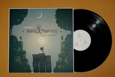 Sword & Sworcery LP - The Ballad of the Space Babies - 180g vinyl + Limited Edition Print