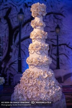langham huntington pasadena los angeles California wedding winter theme snow flakes duke photography