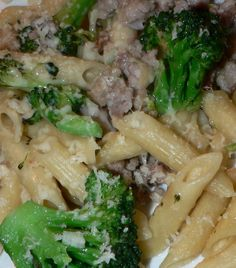 Here is a simple main dish - Pasta With Italian Sausage and Broccoli. Click here to see the ingredients and recipe: http://www.tastygalaxy.com/cook/pasta-with-italian-sausage-and-broccoli/