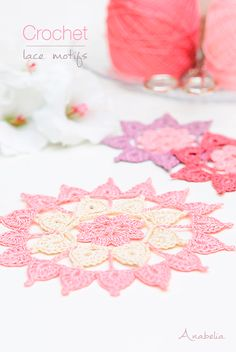Lovely and easy to do new Crochet Lace Motifs