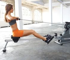 30 Workouts / 30 Minutes: High Energy Cardio. Don't wait for the treadmill. The rower incinerates calories just as fast. Here's your workout. #SelfMagazine