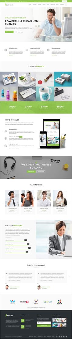 Focuson is a beautiufully design responsive #HTML #template for multipurpose #startups website with 10 stunning homepage layouts download now➯ https://themeforest.net/item/focuson-business-html-theme/17184687?ref=Datasata