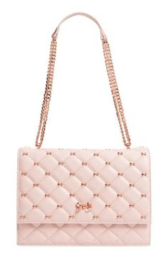 9a4bb3231265 Find and compare Ted Baker London Bow Quilted Leather Shoulder Bag across  the world s leading online stores!
