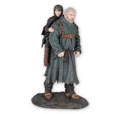 Game of Thrones Statue Hodor und Bran. Hier bei www.closeup.de