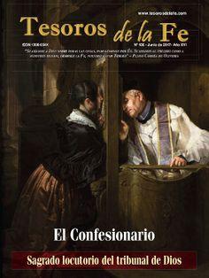 Revista de cultura católica Tesoros de la Fe / El Confesionario Sagrado locutorio del tribunal de Dios